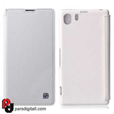 HOCO Crystal Series Retro Flip Leather Case for Sony Xperia Z1